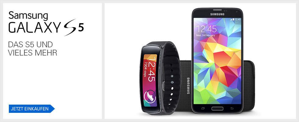 Samsung Galaxy S5 - Jetzt einkaufen