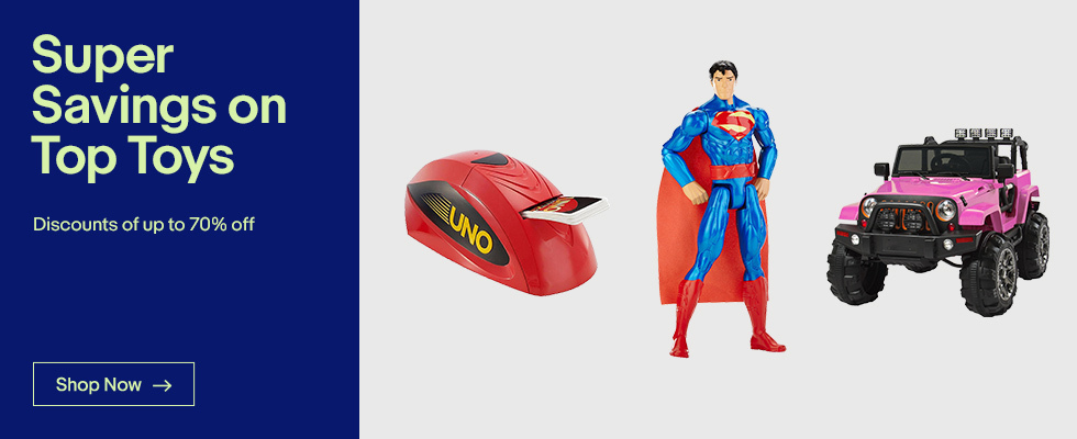 Super Savings on Top Toys | Discounts of up to 70% off | ShopNow