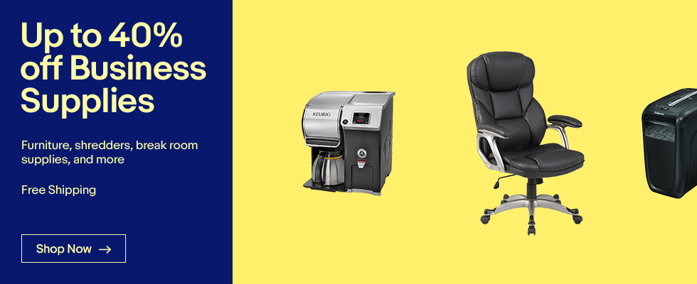 Up to 40% off Business Supplies | Furniture, shredders, and more | Free Shipping | Shop Now