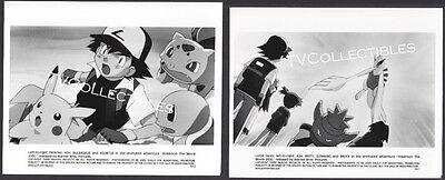 8x10 Photo Lot~ POKEMON 2000~Ash Ketchun~Pikachu~Misty~Bulbasaur~Swirtle~Cartoon](Pokemon Black And White Misty)