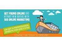 Professional SEO to increase Google Ranking - Starting at £60pm | Web Design - Starting at £150