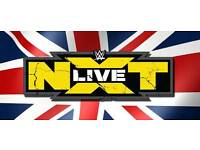 ×2 WWE NXT Ringside Tickets (Front Row) - Manchester Arena 06/06/17