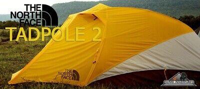 The North Face Tadpole 2 Person Tent 3 Season New