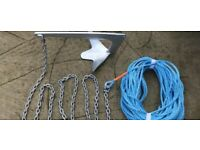 Wanted boat ropes, anchor, fenders