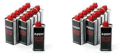 24 x ZIPPO Benzin - Das Original - 24 x 125ml Kanister Feuerzeug TOP PREIS