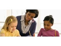 Private English and Maths Tutor, Weekend and Evenings, Child Tutor, primary, nursery, 0-11+ Years