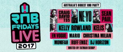 RnB Fridays Live Concert 2017