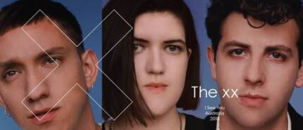 2 x The XX tickets - Sidney Myer Music Bowl - 13th Jan 2018