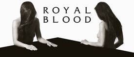 Royal Blood Standing ticket