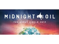 Spare ticket for Midnight Oil at Hammersmith Apollo on 4th July. Face value: £57