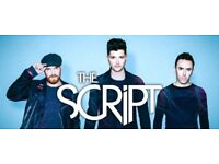The Script x2 tickets @ The 02 in London