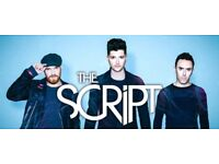 The Script 4th row tickets block 3 Liverpool Arena great seats x 2