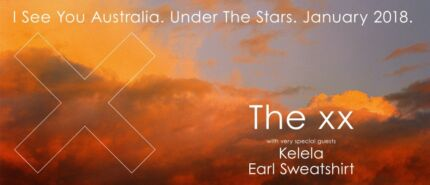The xx Melbourne Jan 13 SOLD OUT seats 2 x STALLS tickets worth $280!