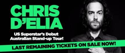 Chris D'Elia Sydney Comedy 27 October Show 3 x Tickets Each Price