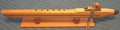 Native American Flute -  Solid Cherry,  Key low D - handmade Beautiful