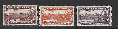 NEW ZEALAND # C1-C3 mint Hinged  air mail