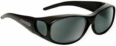 Jonathan Paul® Fitovers Eyewear Medium Element in Matte-Black & Gray (Fitovers Eyewear)