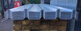 🏗Galvanised Box Profile Roof Sheets X 100 - New