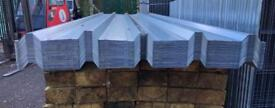 🌺New Galvanised Box Profile Roof Sheets x 100