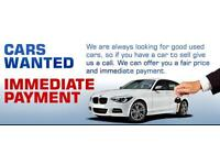 CARS AND VANS,4x4 WANTED instant cash