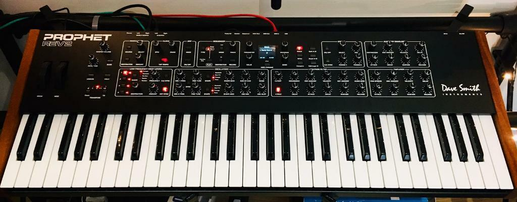 Dave Smith Prophet Rev 2 16-Voice Polyphonic Analogue Synthesizer | in  South East London, London | Gumtree