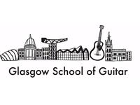 Glasgow School of Guitar. Lessons for children and adults. £11 per hour.