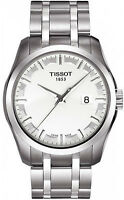 Tissot Men's Couturier T035.410.11.031.00 Silver Stainless-Steel