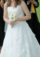 Size 10 Ivory Wedding Dress