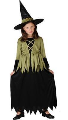 Mädchen Kostüm Hexe Woodland Witch Kinder 10 - 12 Jahre Halloween (Witch Mädchen Halloween Kostüme)