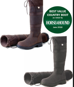 Equestrian Rhinehold Elite Brooklyn Leather Country Boot