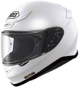 NEW Shoei NXR Helmet - Size Small, White. Lane Cove North Lane Cove Area Preview
