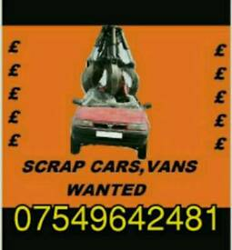 **WANTED**scrap cars south yorkshire