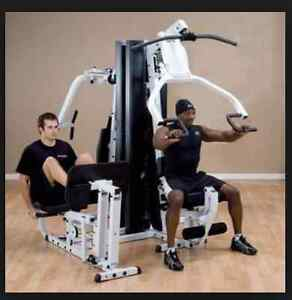 Body Solid whole GYM SYSTEM (EXM3000LPS) **PERFECT CONDITION** Peterborough Peterborough Area image 2