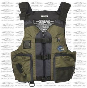 Calcutta fishing pfd life jacket vest kayak or canoe for Kayak fishing vest
