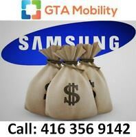 CASH FOR SAMSUNG - NEW OR USED SAMSUNG GALAXY S3 S4 S5 OR NOTE
