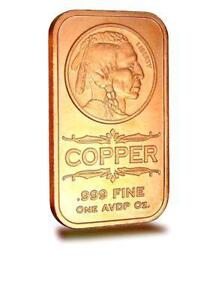 Other Bullion 1 Oz Copper Bars Lot Of 16 Bullion