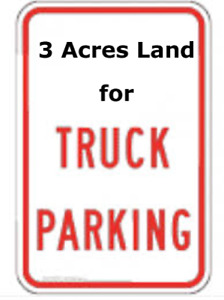 3 Acres of Truck Trailer parking Yard For Sale in Mississauga