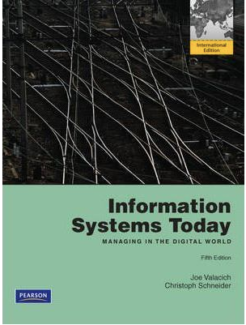 Accounting information systems 14th edition ebook pdf information systems today international edition fandeluxe Gallery