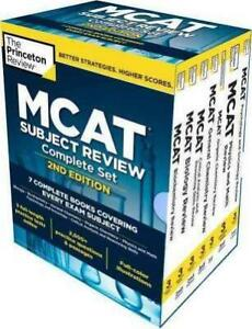 Princeton Review MCAT Subject Review Complete Box Set, 2nd Ed