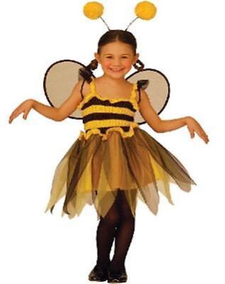 Kinder Kostüm LITTLE BEE Gr.116 Karneval Kleine Biene - Little Bee Kostüme