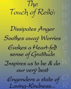 REIKI HEALING AND TEACHING