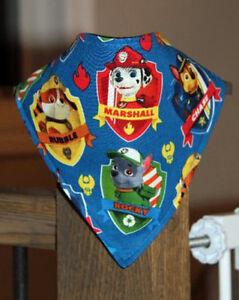 Handmade - Paw Patrol - Bandana Bib
