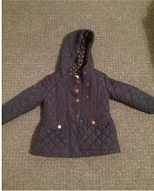 Next Coat Blue age 2-3 years