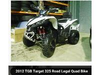 2012 tgb target 325 road legal quad bike