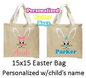 ~NEW Personalized Easter Bags $15~Great gift for the kids!!