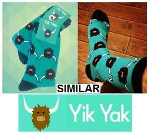 NEW YIK YAK HIGH SOCKS UNISEX CASUAL NOVELTY CLOTHING 99708674