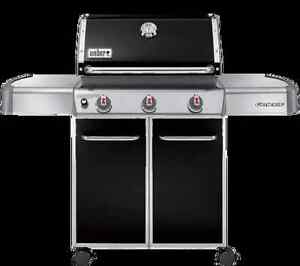 Weber natural gas 3 burner bbq