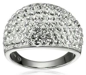 bague dome argent sterling