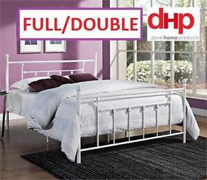 NEW DHP MANILA METAL BED FRAME WHITE Full/Double size 99084897