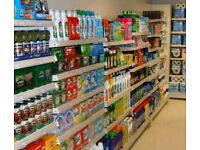 LIKE NEW 1500 SQ FT SHOP FITTINGS OVER £10,000 NEW WITH TILL AND MORE